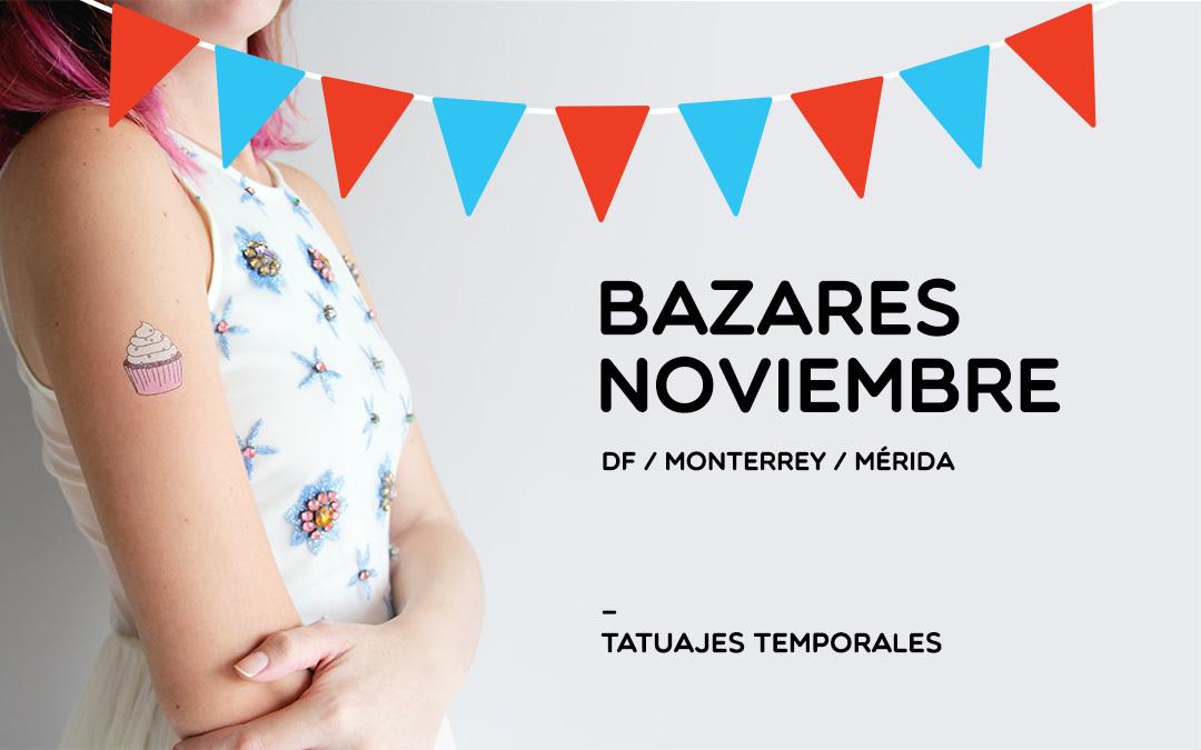 Tatumi en Bazares – Noviembre