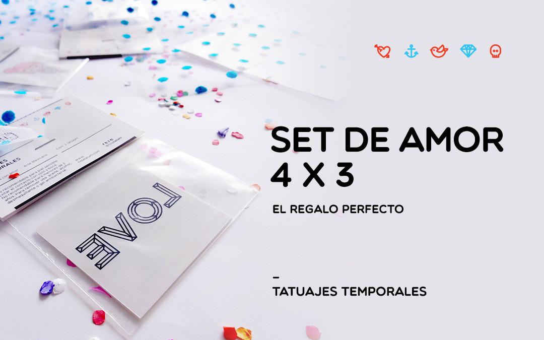 Promoción – Set de Amor
